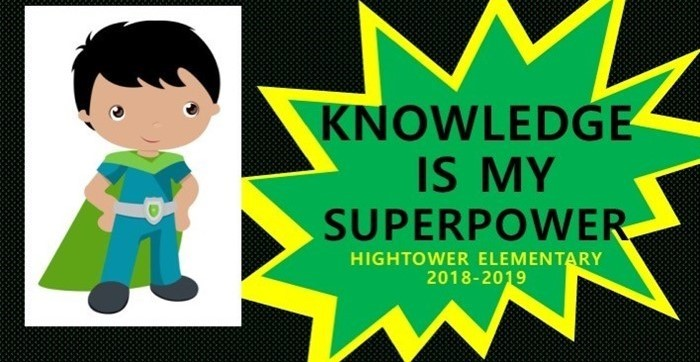 Knowledge is my superpower